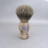 Hans Baier Помазок для бритья, коричневый пластик, ворс барсука
