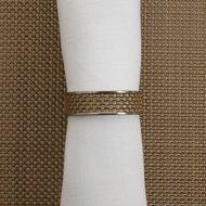 CHILEWICH Кольцо для салфеток Gold, 4 см