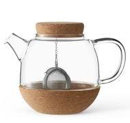 Viva Scandinavia Чайник заварочный с ситечком Cortica (0.8 л), прозрачный