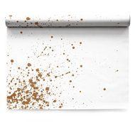 My Drap Сервировочные маты Linen Golden Splash, 48х32 см, 6 шт. в рулоне