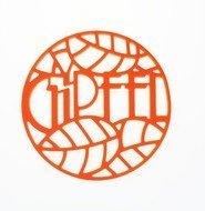 Gipfel Подставка под горячее Glum, 17х17х0.8 см, оранжевая
