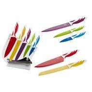 Gipfel Набор ножей на пластиковой подставке с защитным покрытием, 6 пр.