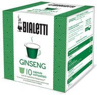 Bialetti Кофе в капсулах Ginseng Nespresso, 10 шт.