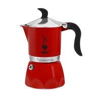 Bialetti Гейзерная кофеварка Fiametta Strawberry (0.18 л), на 3 чашки (5342)