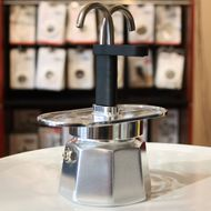 Bialetti Гейзерная кофеварка Mini Express на 2 чашки