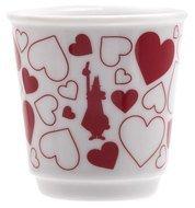 Bialetti Чашка Bicchierini Cuore (60 мл), красная