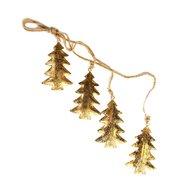 EnjoyMe Гирлянда подвесная Golden Trees, 4 шт.