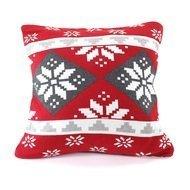 EnjoyMe Подушка с орнаментом Christmas story, 45х45 см