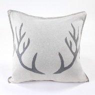 EnjoyMe Подушка с орнаментом Deer, 45х45 см, серый