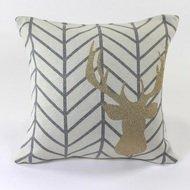 EnjoyMe Подушка с рисунком Golden Deer, 45х45 см
