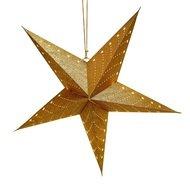 EnjoyMe Светильник подвесной Star с кабелем 3.5 м и патроном под лампочку E14, 60 см, золотой