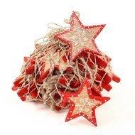 EnjoyMe Украшения подвесные Christmas Stars, в сетке, 30 шт.