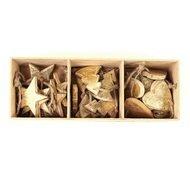 EnjoyMe Украшения подвесные Golden Stars/Trees/Hearts, 24 шт.