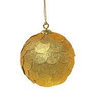 EnjoyMe Шар новогодний декоративный Paper ball, золотой