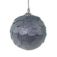 EnjoyMe Шар новогодний декоративный Paper ball, серебрянный