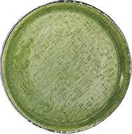 Argenesi Поднос Infinity, 35 см, зеленый