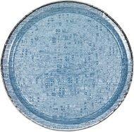 Argenesi Поднос Infinity, 35 см, голубой
