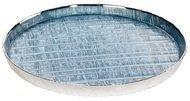 Argenesi Поднос Wood, 36 см, голубой