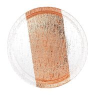 Argenesi Поднос Infinity, 35 см, медный