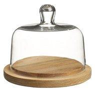 Sagaform Тарелка для хранения сыра с крышкой, 18 см