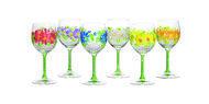 Fade Набор бокалов для воды Blooms (240 мл), 6 шт.