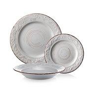 Fade Набор тарелок White Servizio Derby, 18 пр.
