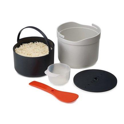 Рисоварка для микроволновой печи M-Cuisine, 22х13.5х18 смПароварки<br><br><br>Серия: M-Cuisine<br>Состав: Мерный стакан, Дуршлаг, Крышка, Ложка