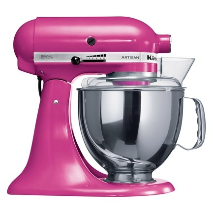 Миксер планетарный, дежа (4.83 л), 3 насадки, пурпурный KitchenAid 5KSM150PSECB