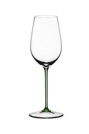 Бокал для белого вина Gruner Veltliner на зеленой ножке (380 мл)Бокалы для белого вина<br>Объем бокала 380 мл, высота 24,8 см. Изысканность белых вин, их богатый аромат и длительное послевкусие лучше всего ощущается именно бокале, специально разработанном для подачи белых вин. Молодое белое вино в этом бокале дарит свою свежесть, а выдержанное - в полной мере позволяет ощутить свой характерный вкус.<br><br>Серия: Sommeliers