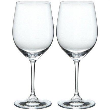 Набор бокалов для белого вина Chardonnay/Chablis (350 мл), 2 шт.Бокалы для белого вина<br>Объем бокала 350 мл, высота 19,8 см. Этот набор бокалов поможет вам насладиться изысканностью, богатым ароматом и приятным послевкусием белых вин. Форма бокала на изящной высокой ножке тщательно разработана для того, чтобы молодое белое вино смогло надышаться и подарить вам свою свежесть, а выдержанное – в полной мере проявить свой вкус и букет.<br><br>Серия: Vinum