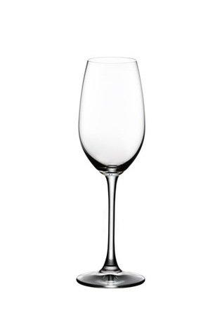 Набор бокалов для шампанского Champagne Glass (260 мл), 2 шт.Бокалы для шампанского<br>Объем бокала 260 мл, высота 21.7 см. Высокий бокал тюльпанообразной и вытянутой формы помогает игристому вину проявить свой утонченный аромат. Благодаря сужающейся кверху чаше именно в таком бокале концентрируется уникальная смесь ароматов этого вина. Пузырьки приятно подчеркивается мягкую структуру вина.<br><br>Серия: Overture