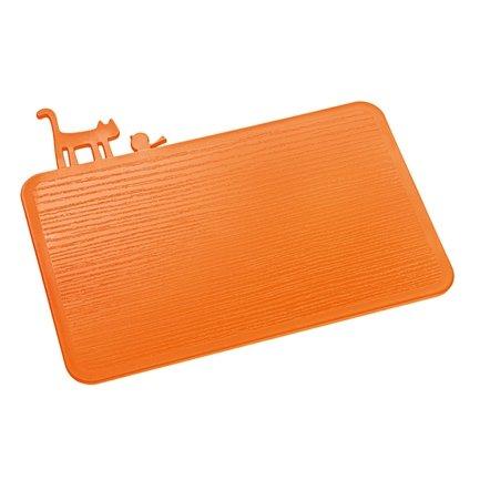 Разделочная доска Pi:P (3639521), 29.8х25х0.5 см, оранжевая