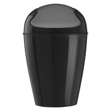 Ведро для мусора Del XL (5773526), 34х34х64.8 см (30 л), черное от Superposuda