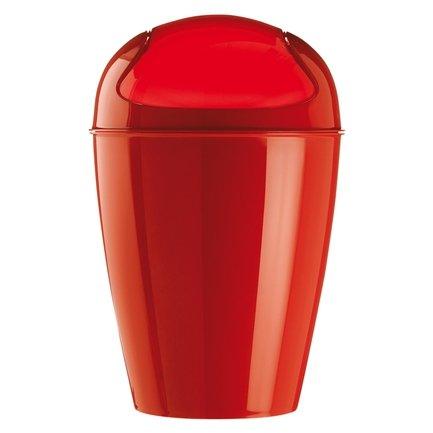 Ведро для мусора Del XL (5773555), 34х34х64.8 см (30 л), клубничное от Superposuda