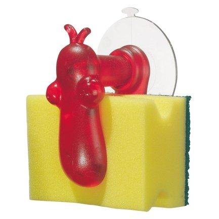 Держатель для губки NORBERT (5885536), красный от Superposuda