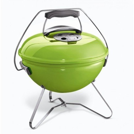 Weber Гриль угольный Smokey Joe Premium, 37 см, салатовый