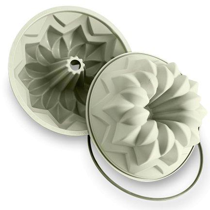 """Форма круглая """"Starbundt"""", 24 см, лиловая, в подарочной упаковке Silikomart SFT600"""