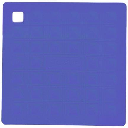 Прихватка-подставка для горячего, 17.5х17.5 см, синяя