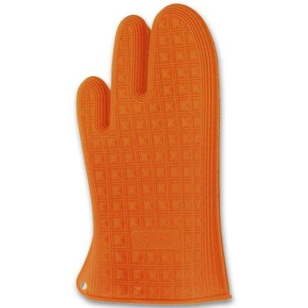Рукавица, 27х14 см, оранжеваяРукавицы и Прихватки<br>Удобная рукавица из мягкого и прочного силикона пригодится каждой хозяйке. Она хорошо «сидит» на руке и помогает поставить в духовку и вынуть из нее любое блюдо. Яркая рукавица приятна на ощупь и привлекает внимание своим функциональным дизайном.<br><br>Серия: Marty for Party
