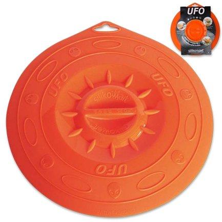 Крышка силиконовая, 25.5 см, оранжеваяКрышки<br>Эта необычная силиконовая крышка универсальна и практична. Ею можно накрыть любую посуду для хранения продуктов в холодильнике или разогрева в микроволновой печи. Накрывая посуду, гибкая крышка очень плотно притягивается к ней, создавая эффект вакуума.<br><br>Серия: UFO