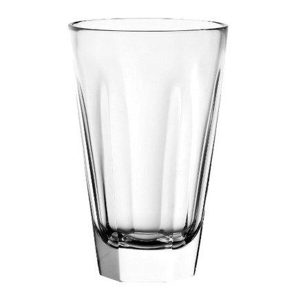 Стакан высокий (430 мл)Стаканы<br>Стакан высотой 14.5 см пригодится для подачи прохладительных напитков: соков, минеральной воды или газированных напитков со льдом. Его изящная форма и приятный дизайн гармонируют с любой сервировкой стола.<br><br>Серия: Esa