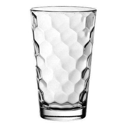 Стакан высокий (410 мл)Стаканы<br>Стакан высотой 14 см пригодится для подачи прохладительных напитков: соков, минеральной воды или газированных напитков со льдом. Его изящная форма и приятный дизайн гармонируют с любой сервировкой стола.<br><br>Серия: Honey