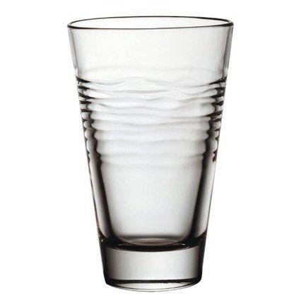 Стакан высокий (380 мл)Стаканы<br>Стакан высотой 14.5 см пригодится для подачи прохладительных напитков: соков, минеральной воды или газированных напитков со льдом. Его изящная форма и приятный дизайн гармонируют с любой сервировкой стола.<br><br>Серия: Oasi