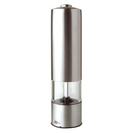 Автоматическая мельница для соли или перца (EP02), 19 см, стальная