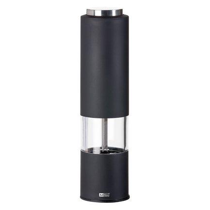 Автоматическая мельница для соли или перца Tropica (EP22), 5х21.5 см, черная