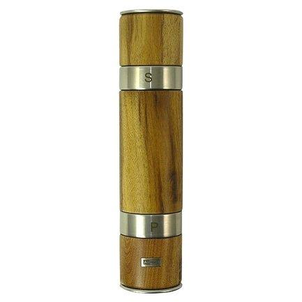 Ручная мельница 2 в 1 для соли и перца Acacia (MP90), 5.5х21 см