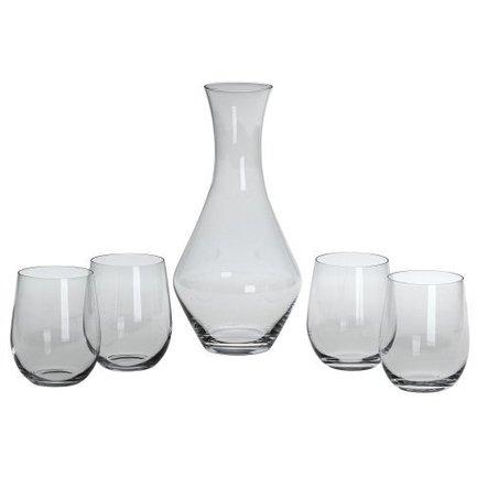 Набор бокалов для белого вина с декантером Fortwo Viognier/Chardonnay, 5 пр.