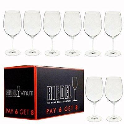 Набор бокалов для красного вина Bordeaux (610 мл), 8 шт.