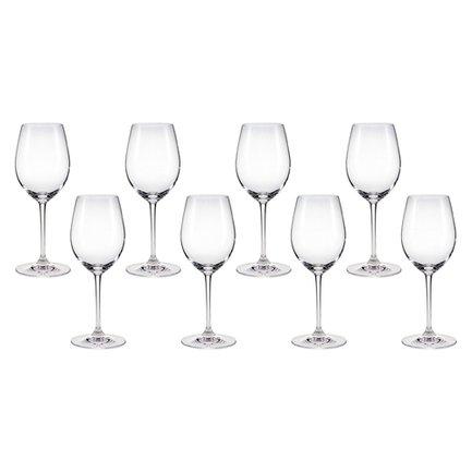 Набор бокалов для белого вина Chablis (350 мл), 8 шт.VIP подарки<br>Объем 350 мл, высота 19.8 см. Изысканность белых вин, их богатый аромат и длительное послевкусие лучше всего ощущается именно бокале, специально разработанном для подачи белых вин. Молодое белое вино в этом бокале дарит свою свежесть, а выдержанное – в полной мере позволяет ощутить свой характерный вкус.<br><br>Серия: Vinum