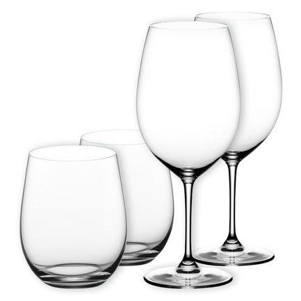 Набор бокалов для красного и белого вина Vinum XL + Gift, 4 шт.